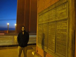 Mike Adams At The Golden Gate Bridge