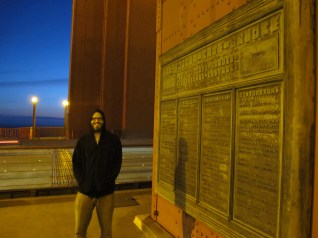 Mike Adams At The Golden Gate Bridge