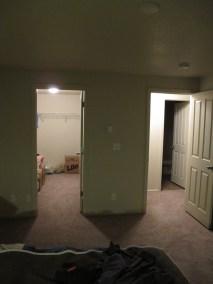 Walk-In Closet & Hallway From Master Bedroom