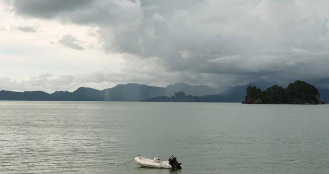 north Langkawi beach view