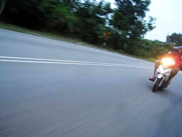 riding in Langkawi