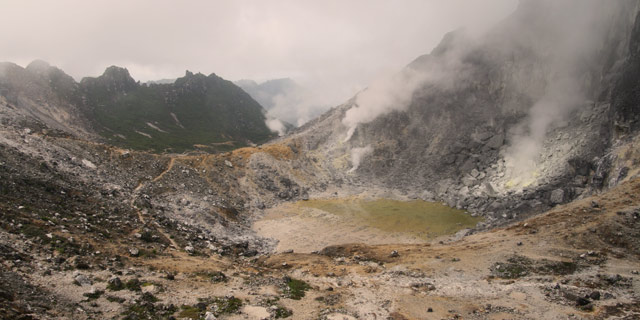 Gunung Sibayak, Berastagi, Sumatra