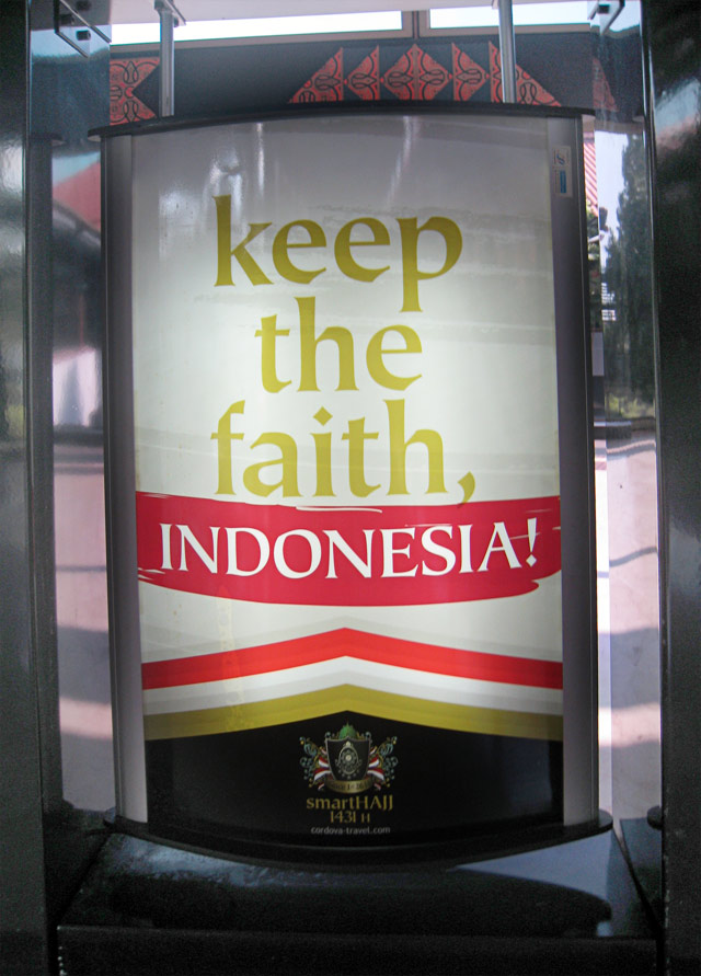keep the faith, indonesia