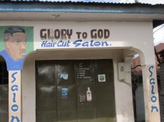 glory to god haircut salon