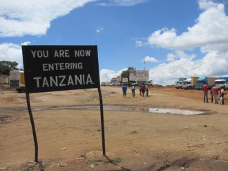 you are entering tanzania