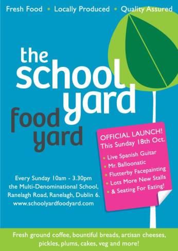 SchoolYard FoodYard launch poster