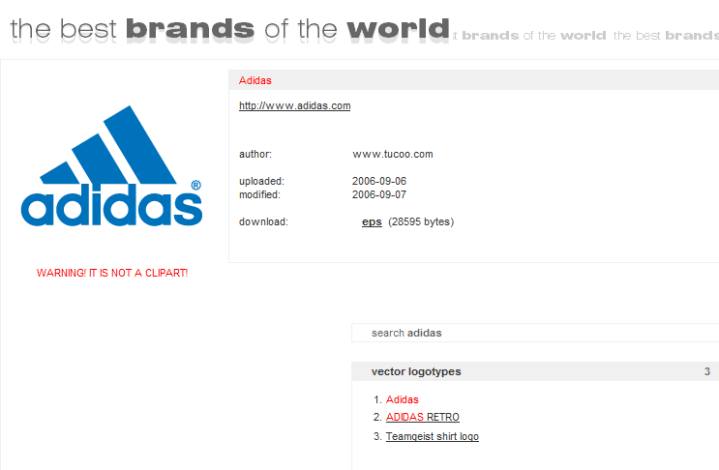 Brands of the world screenshot