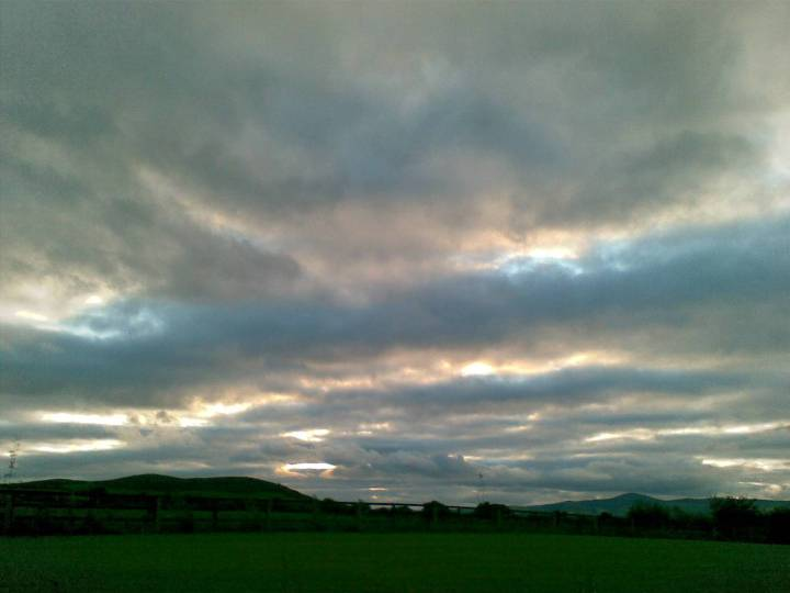 Evening sky in Wexford