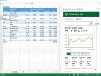 Bing Finance (Beta) for Microsoft Office 365