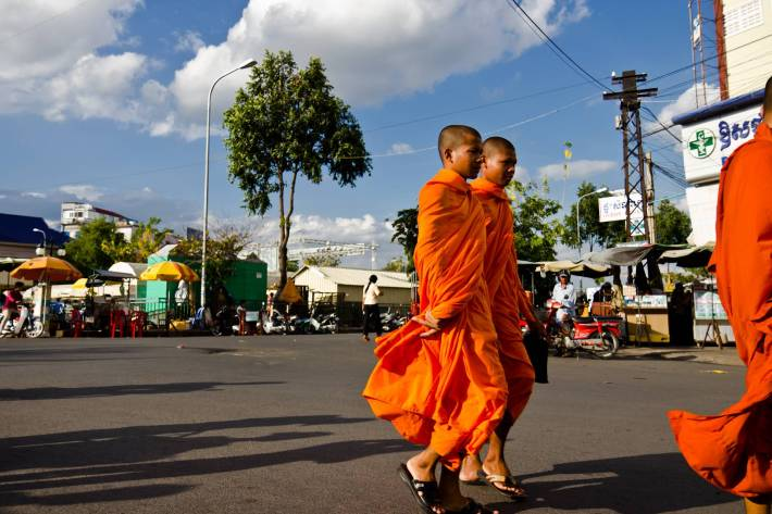 Buddhists - A photo by Alex Leonard