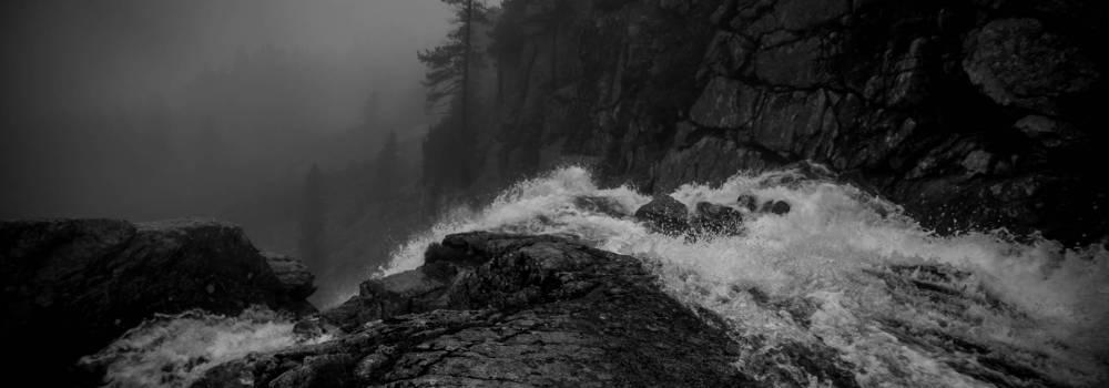 Waterfall - A photo by Alex Leonard