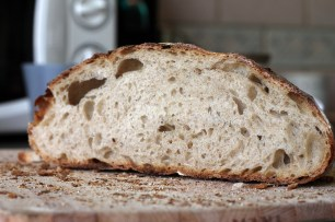 Crumb: airy, almost a little too much