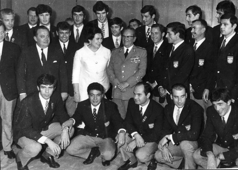 Tito i prvaci 1970