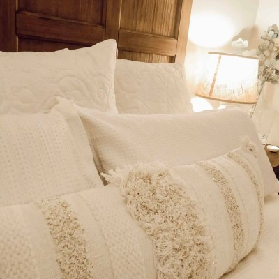 Cozy & Layered All White Bedding