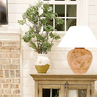 Vintage, rustic, and hand-crafted accent lamps