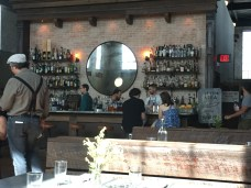 The Bar at the Ice Plant (check out the threads on the waiter!)