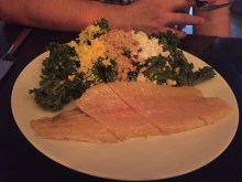 Black Sheep's Kale and Smoked Trout Salad