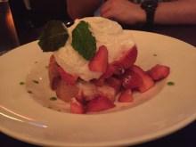 Black Sheep's Peppered Strawberry Shortcake