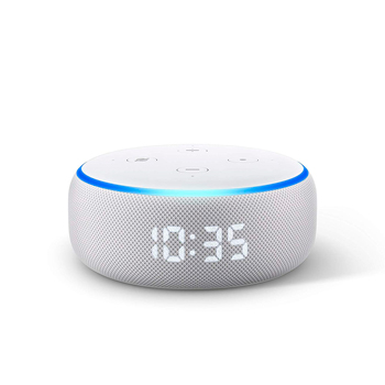 especificaciones amazon echo dot con reloj