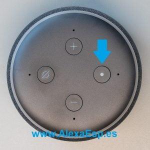 Botón Acción Amazon Echo Alexa