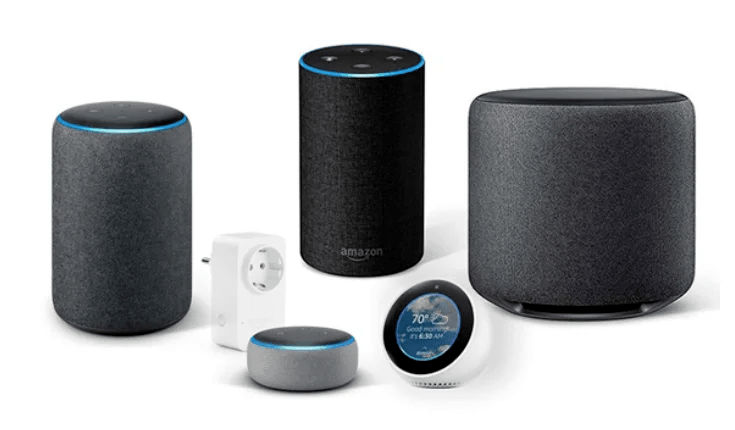 Dispositivos amazon echo con alexa disponibles a la venta