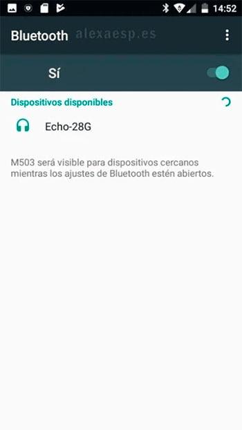 tutorial conectar notebook bluetooth a alexa paso 9
