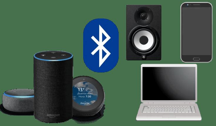 Conectar dispositivos bluetooth con Amazon Echo Alexa