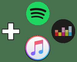 añadir cuenta spotify, deezer, itunes music a alexa amazon echo