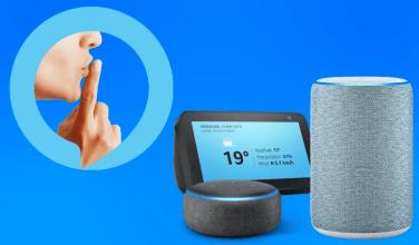 Cómo utilizar el nuevo modo susurro y otras funciones con Alexa Amazon Echo
