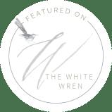 Elegant & White Wedding Inspiration| Alexa Kay Events |  White Wren Feature Badge 2019