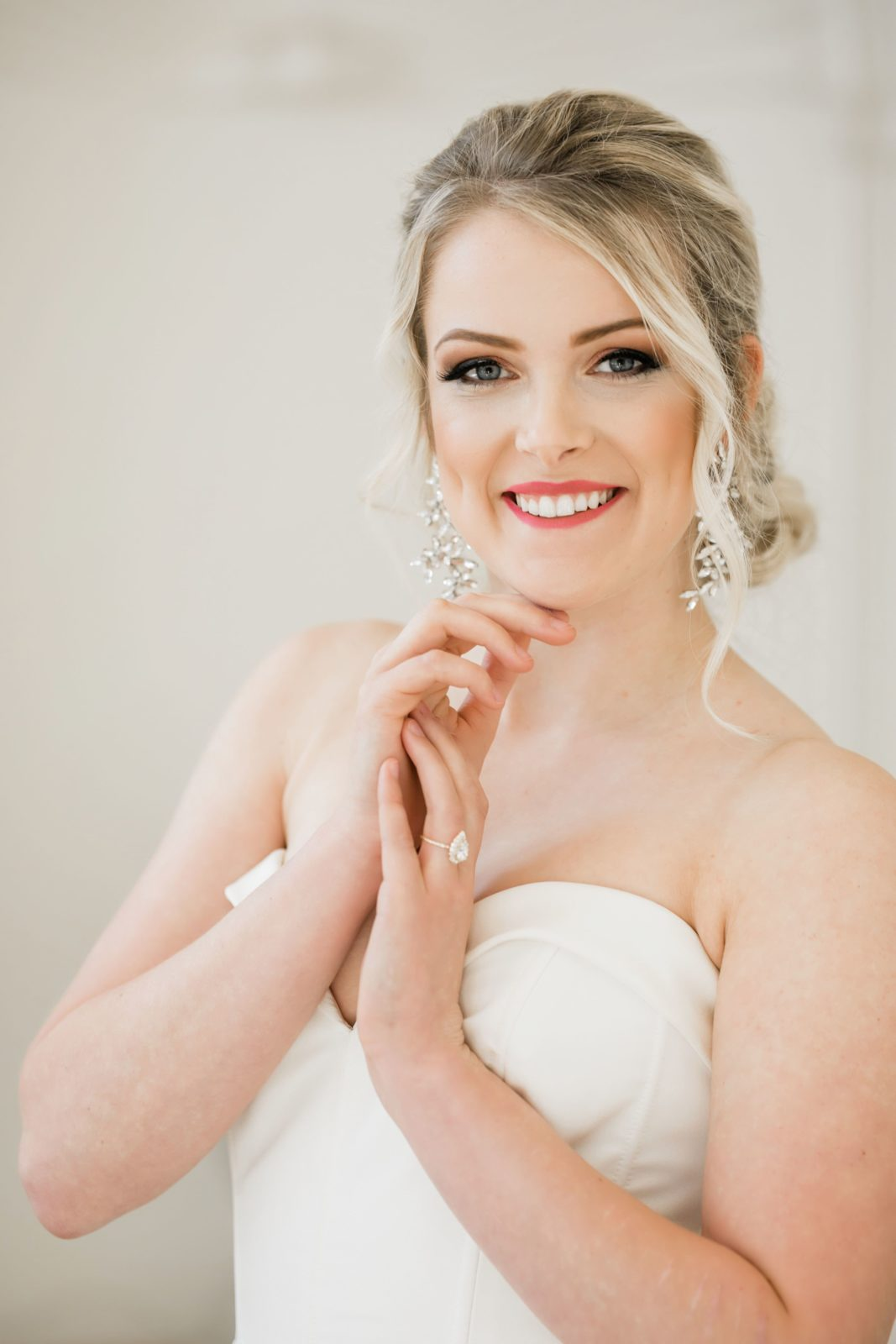Wedding makeup inspiration: Sophisticated and Chic wedding inspiration on Alexa Kay Events