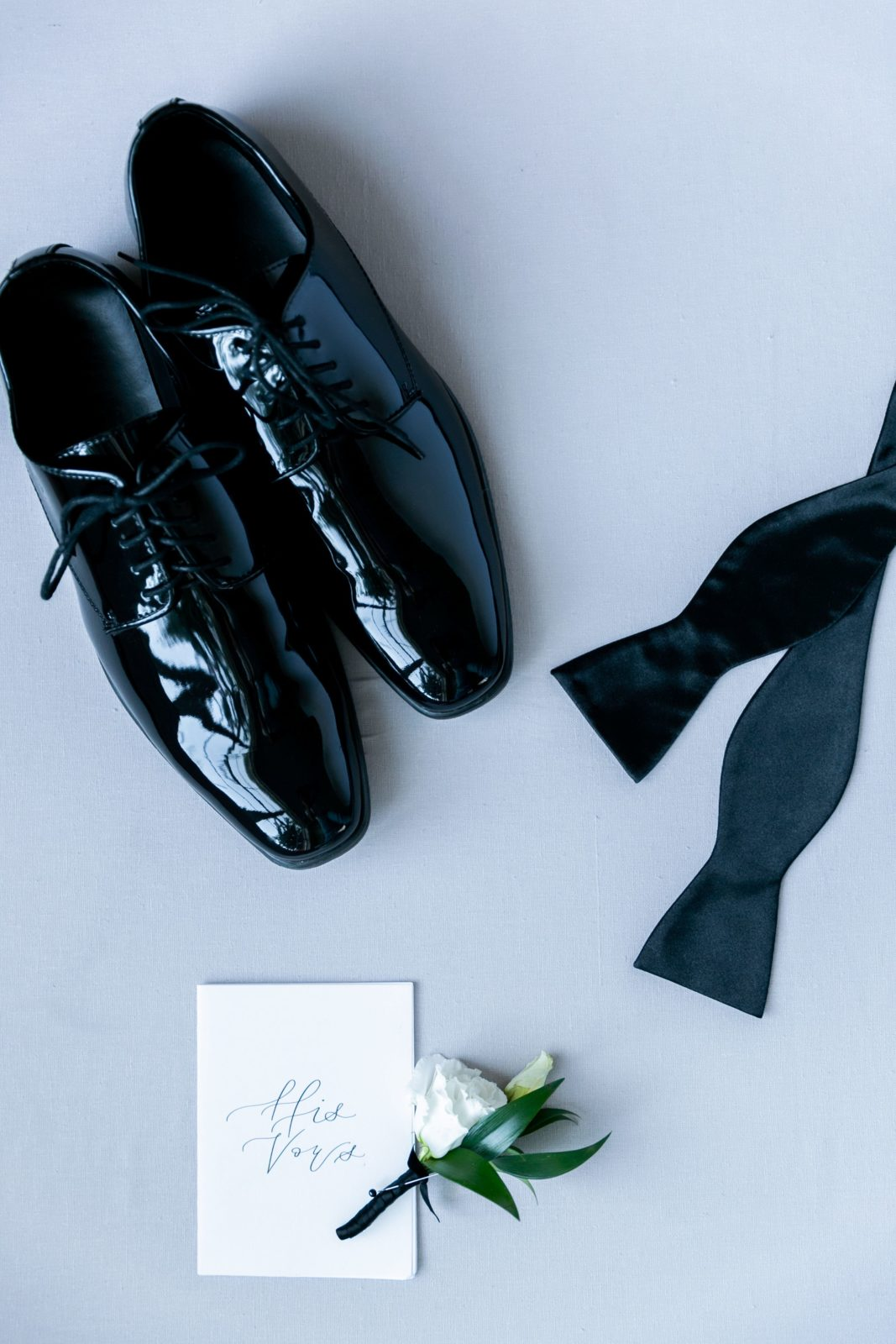 Groom's wedding shoes for romantic wedding editoral on Alexa Kay Events