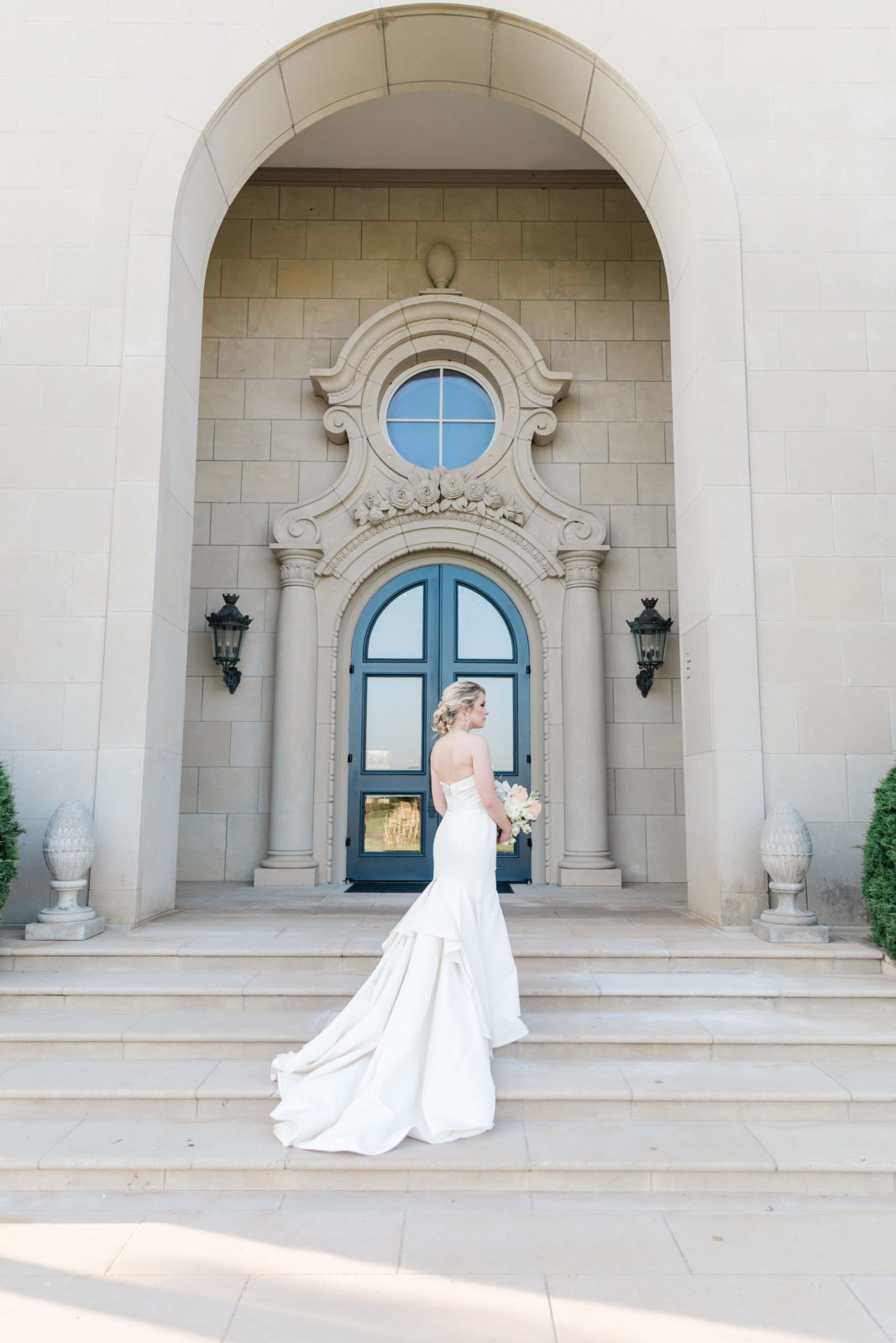 Wedding dress train: Sophisticated and Chic wedding inspiration on Alexa Kay Events