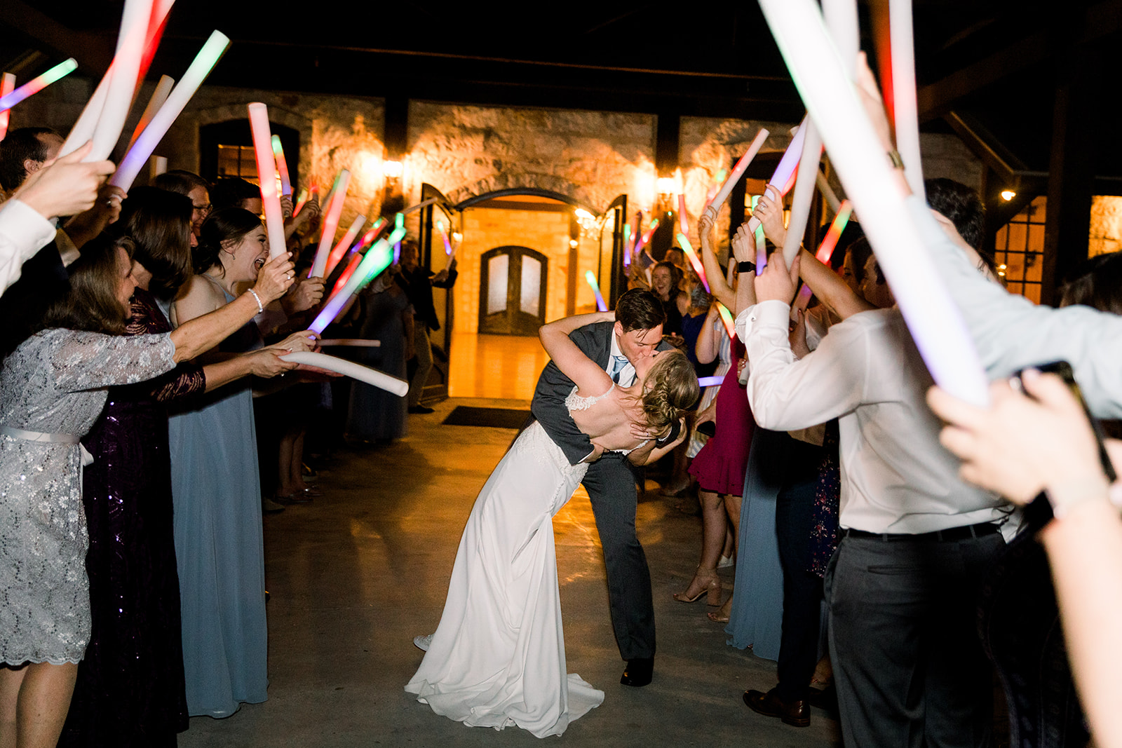 Wedding exit ideas: | Romantic blue Texas wedding at Spring Venue by Alexa Kay Events