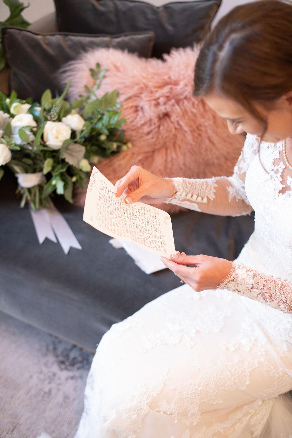 Wedding letter: Modern Minimalistic Wedding at The Emerson