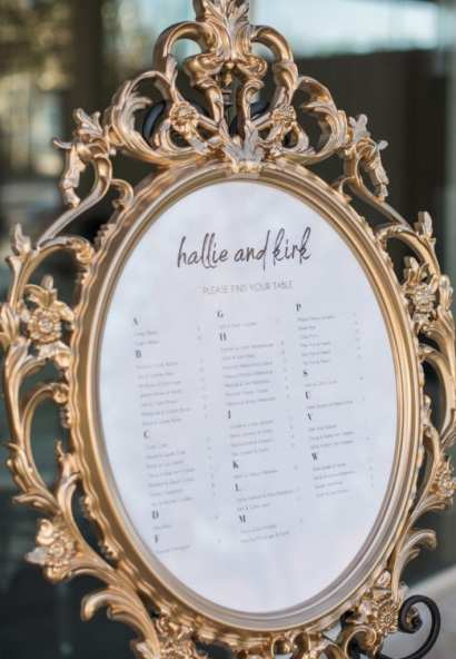Wedding seating chart display: The benefits of having a wedding seating chart on Alexa Kay Events