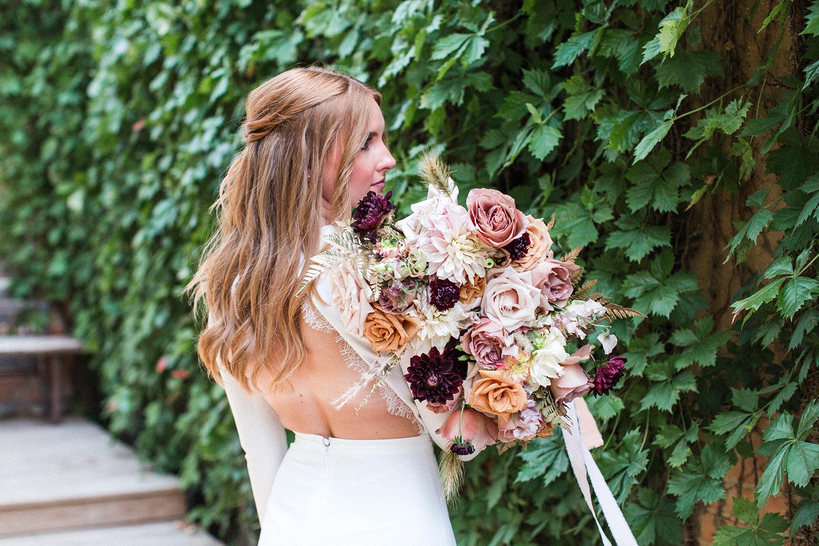 Fall Garden Wedding featured on Alexa Kay Events