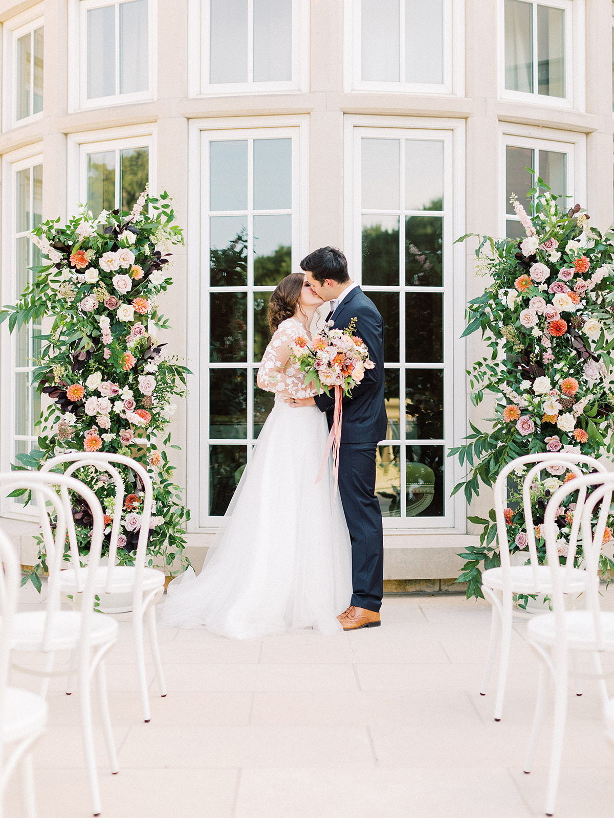 Whimsical garden elegance styled shoot featured on Alexa Kay Events
