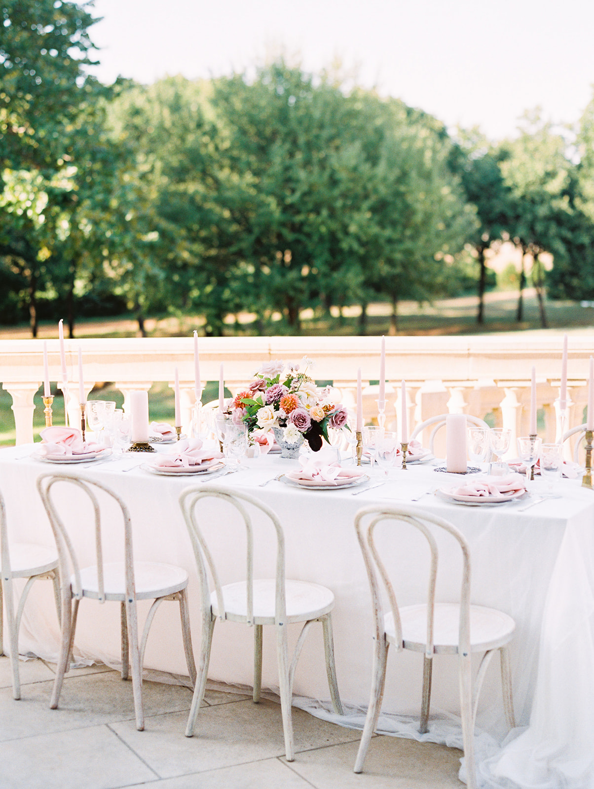 Wedding tablescape: Whimsical garden elegance styled shoot featured on Alexa Kay Events