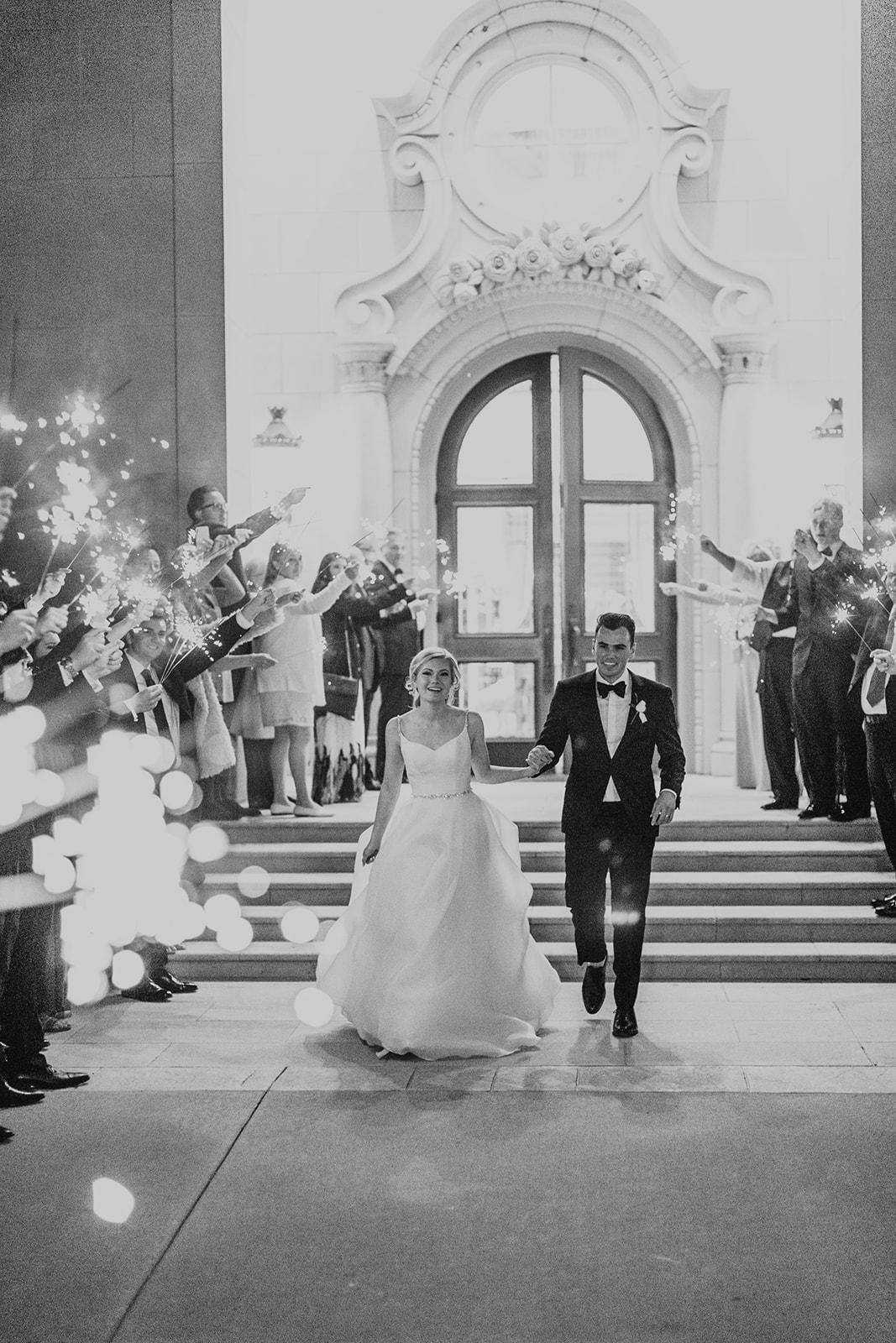 Wedding Exit Ideas featured on Alexa Kay Events!