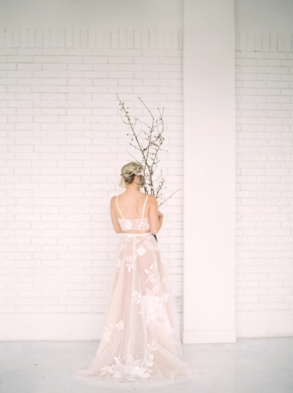 Wedding dress inspiration for Light and airy wedding styled shoot featured on Alexa Kay Events