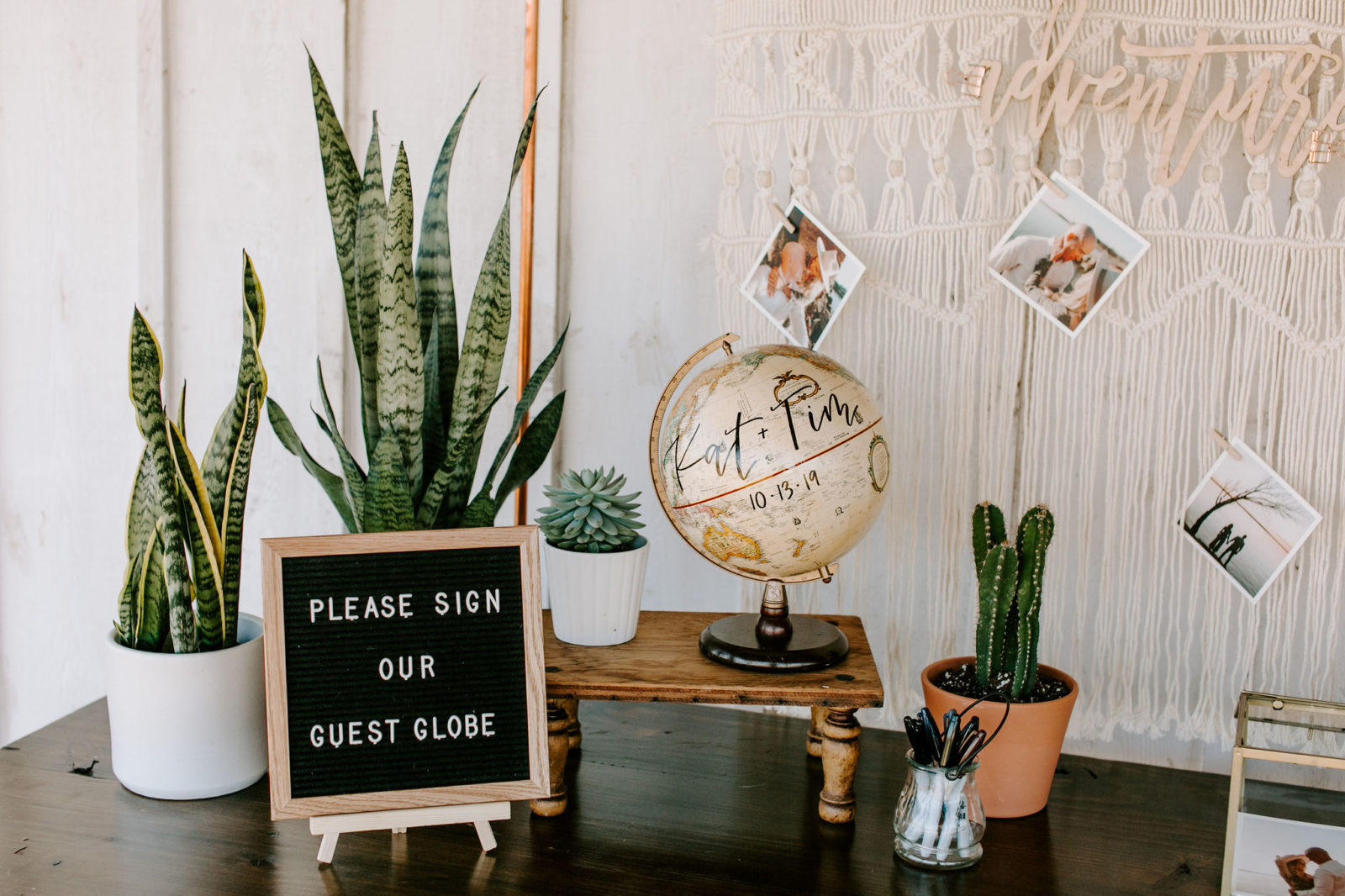 Wedding Guest Book Ideas featured on Alexa Kay Events