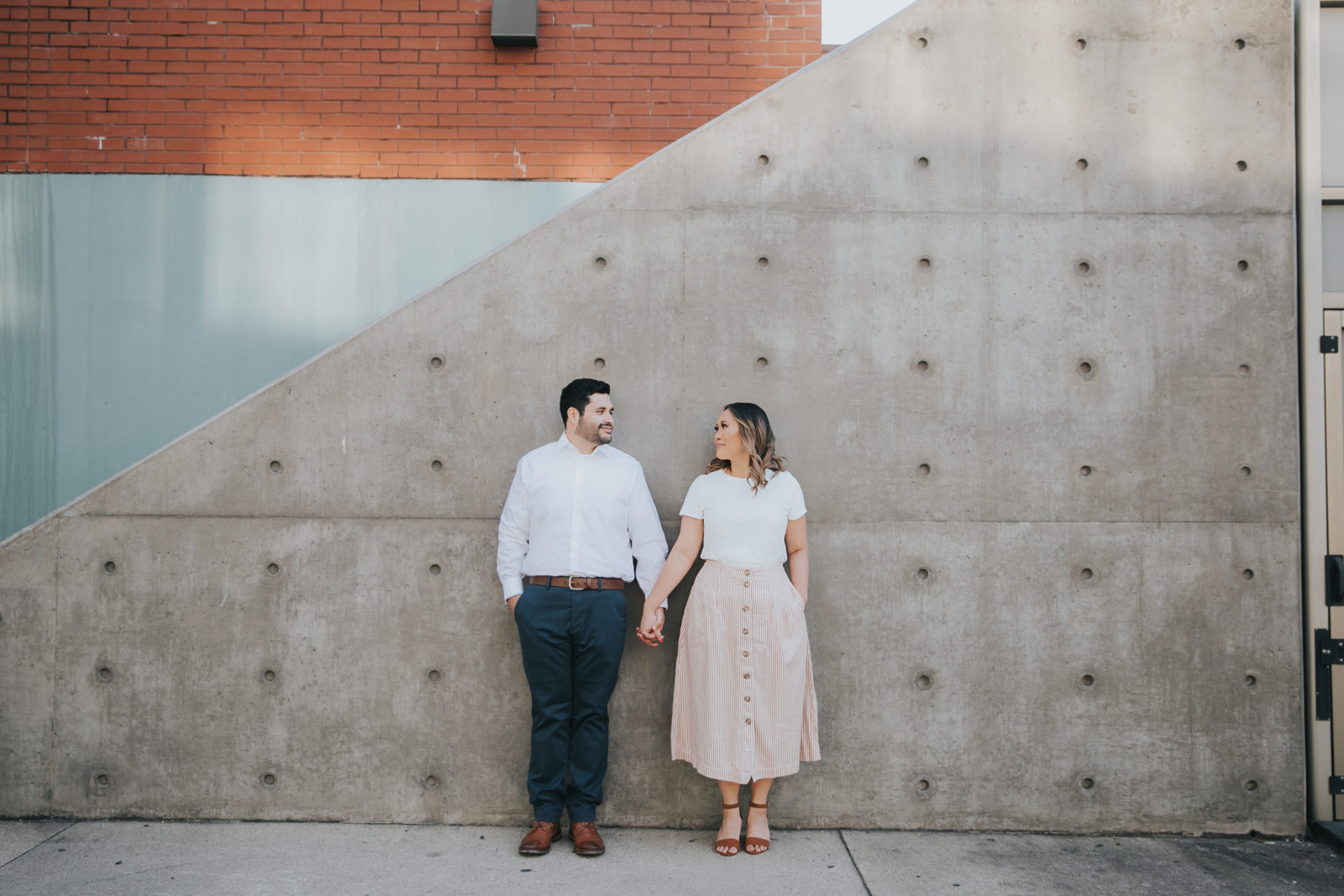Downtown Dallas Engagement