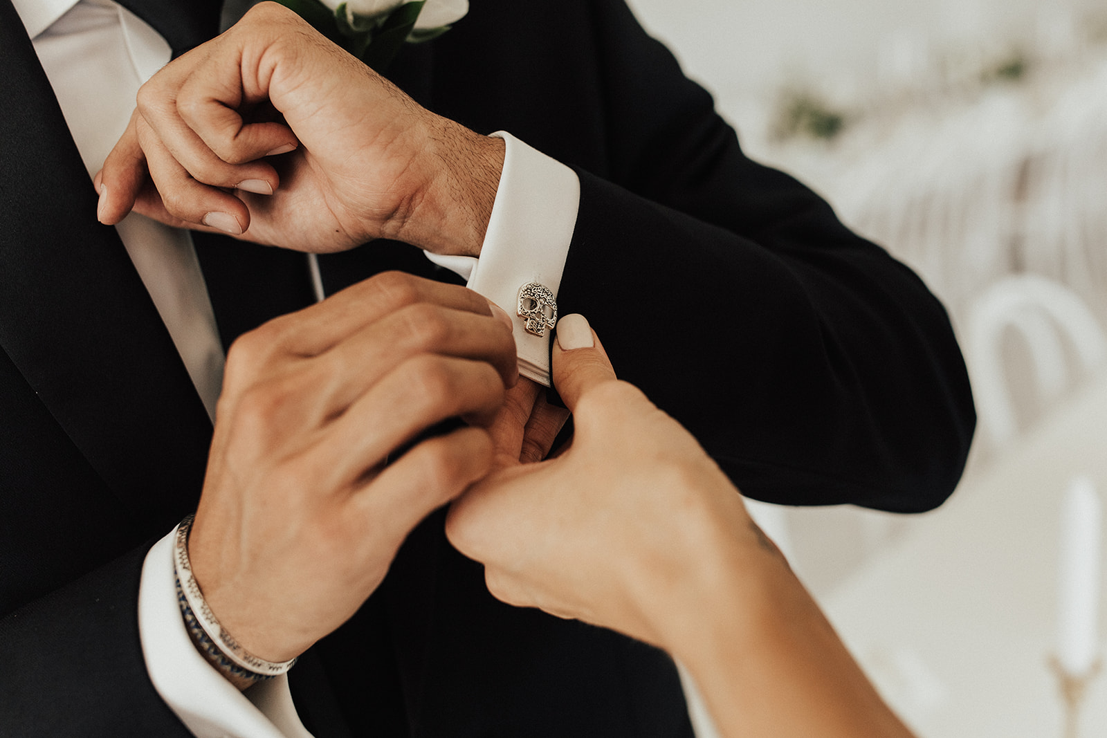 Groom's Cuff Links