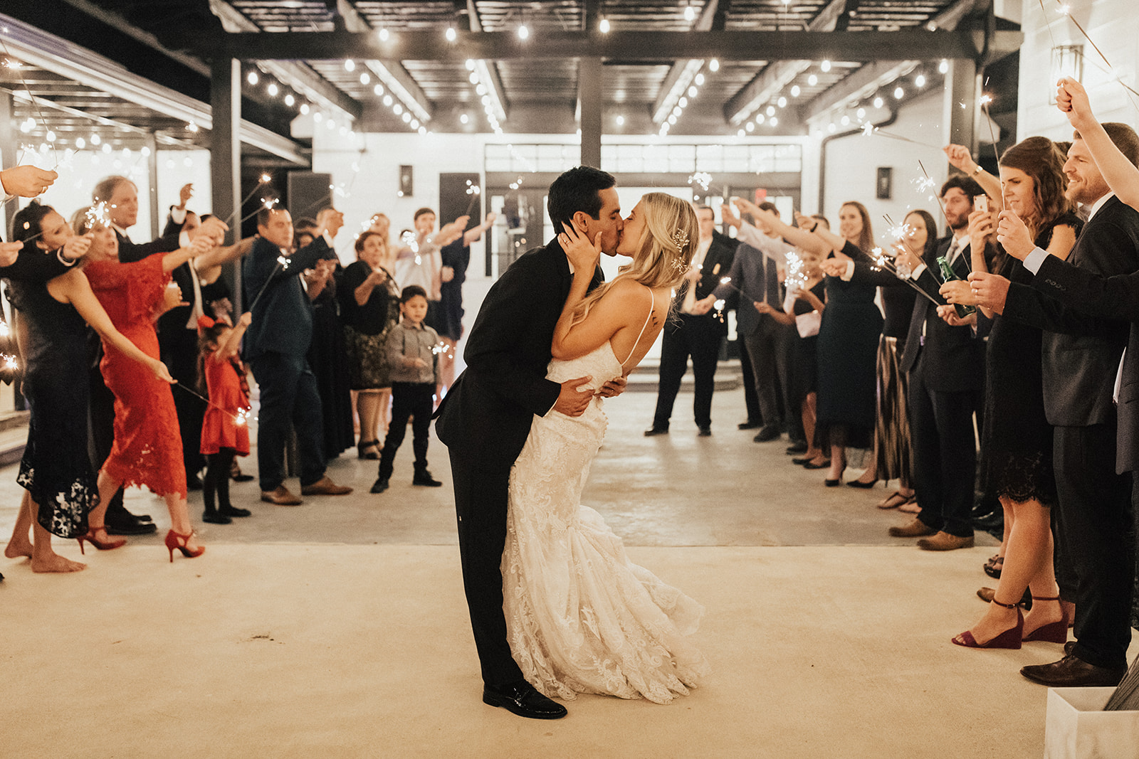 Wedding Reception Exit Inspiration
