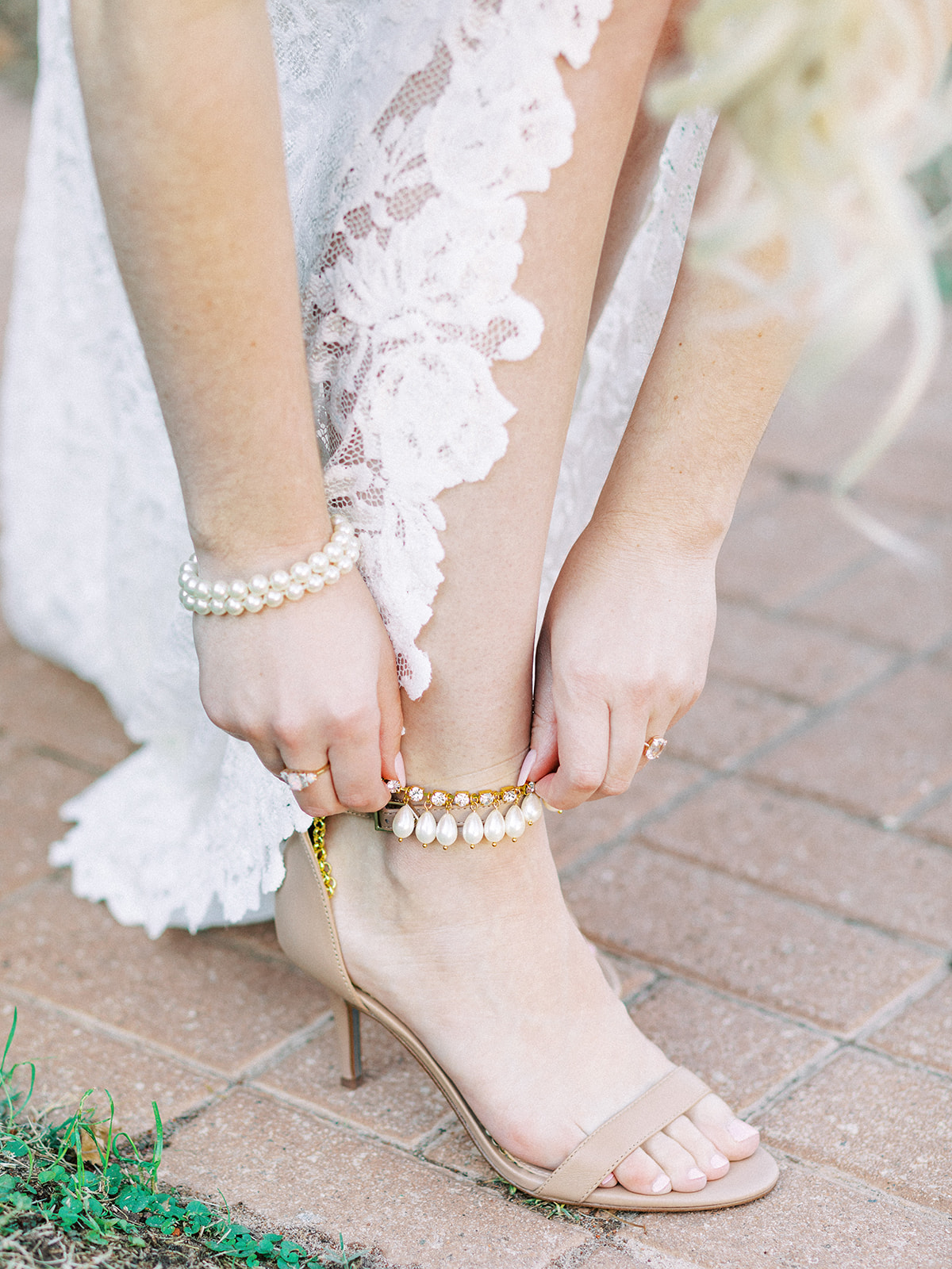 Bridal Shoes: Whimsical Clarks Garden Wedding
