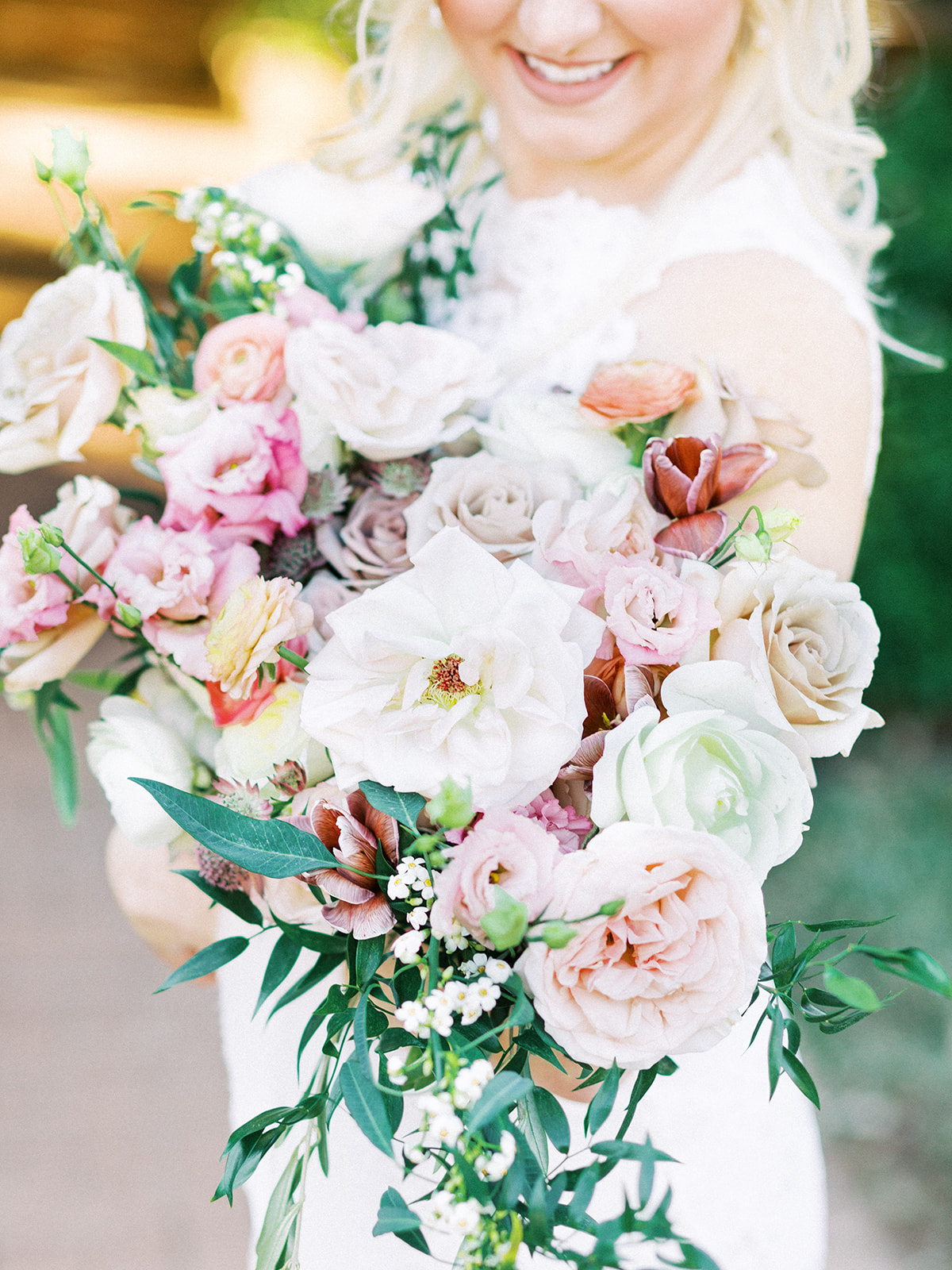 Whimsical Wedding Bouquet featured on Alexa Kay Events