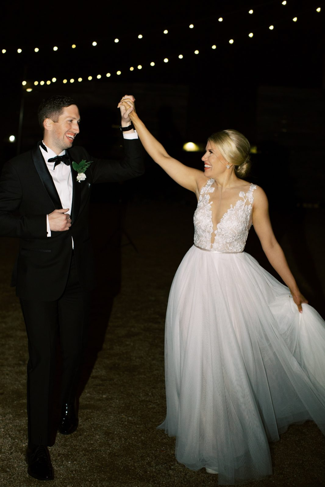Sophisticated New Years Eve Brik Venue Wedding featured on Alexa Kay Events