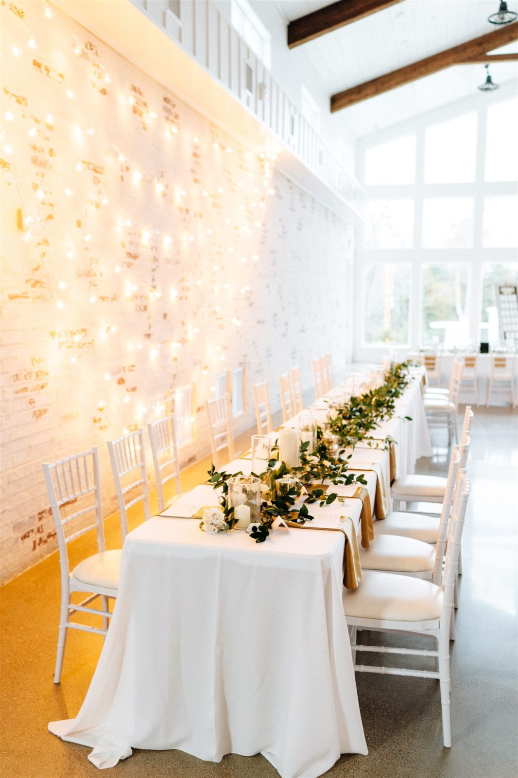 Wedding Tablescape Design: Simply Modern Firefly Gardens Wedding featured on Alexa Kay Events