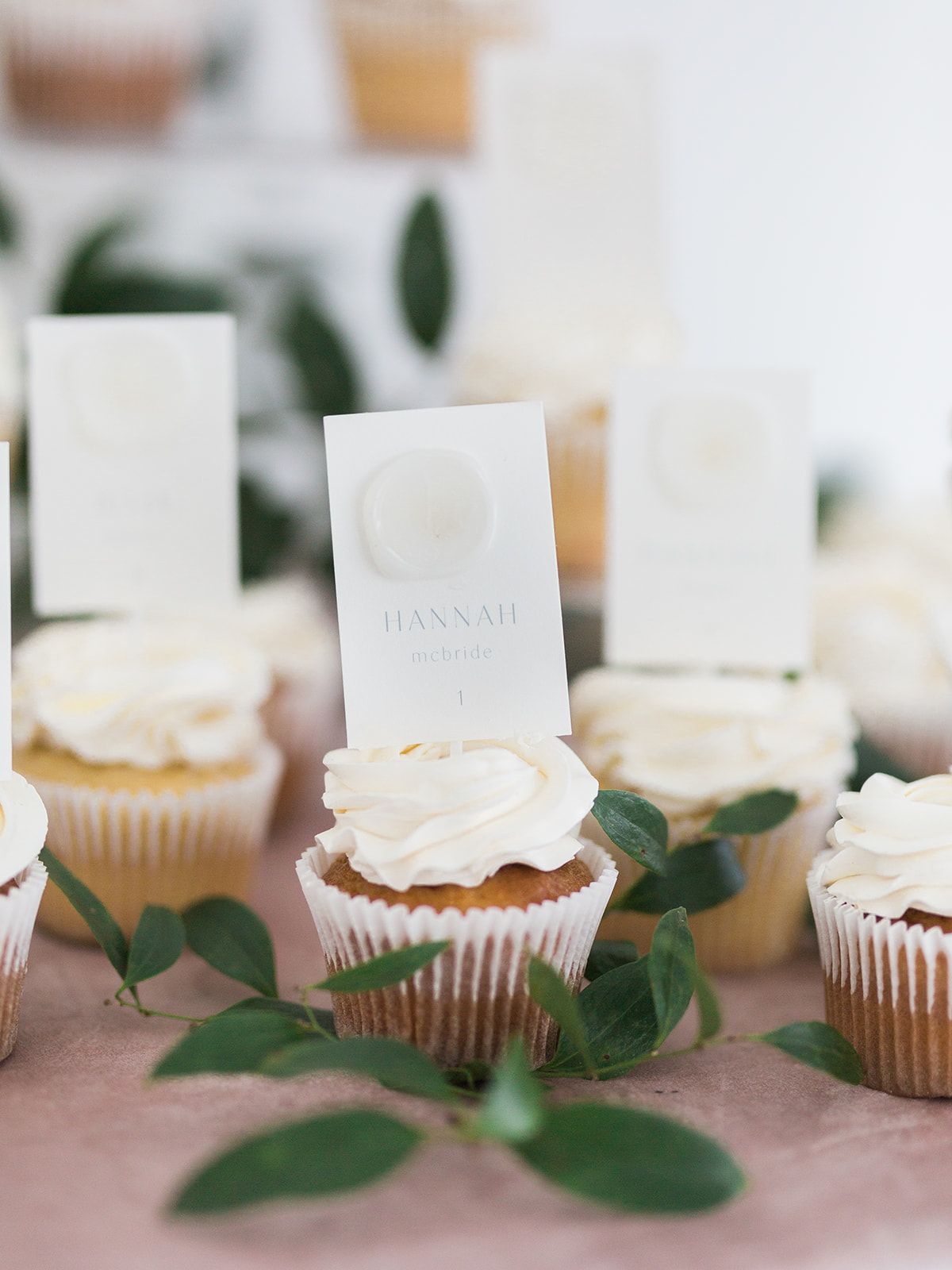 Wedding cupcakes: Pink Floral Wedding Inspiration at The Lumen Room featured on Alexa Kay Events